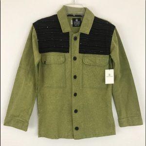 VOLCOM Glam Slam Shirt Jacket NWT W513-10